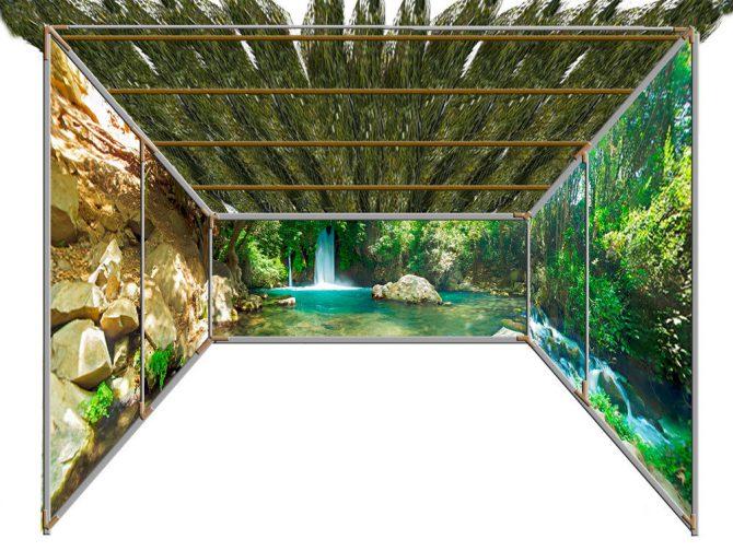 Banias Panoramic Sukkah Kit