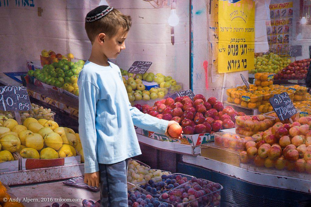 The Shuk Machaneh Yehudah Panoramic Sukkah Kit