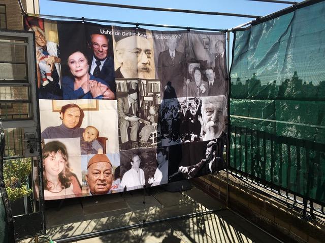 Custom Ushpizin Sukkah Wall - sukkah 360.com