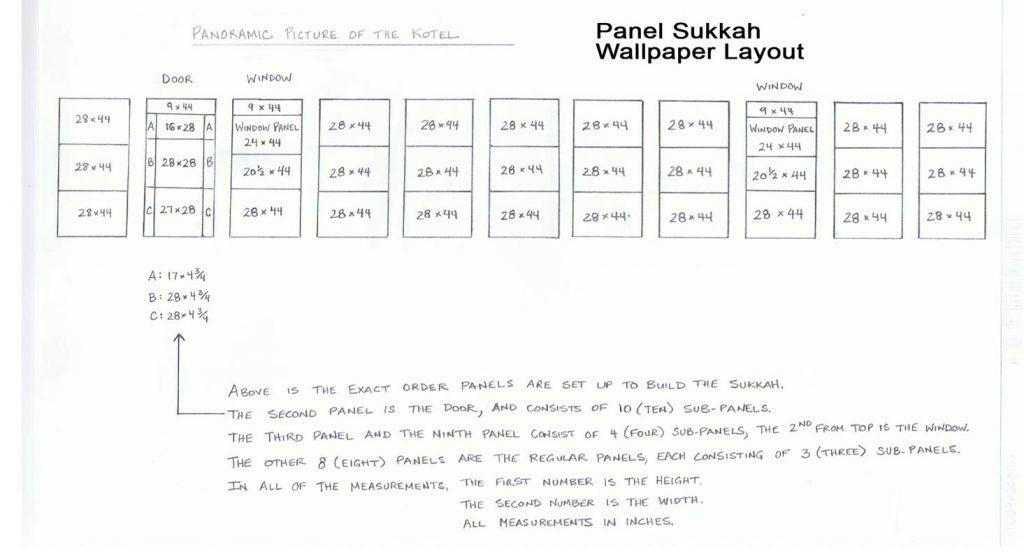 Panel Sukkah Custom Design - sukkah360.com