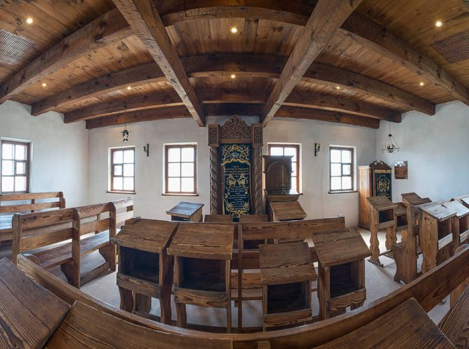 Ba'al Shem Tov Shul Sukkah Panel