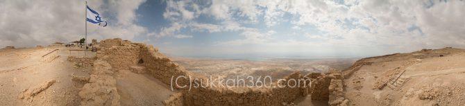 Masada East Gate 360 Degree Panorama - sukkah360.com