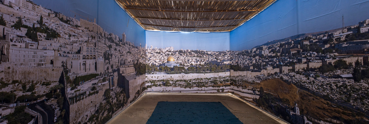 Buy Online Old City Jerusalem Panoramic Sukkah Kit