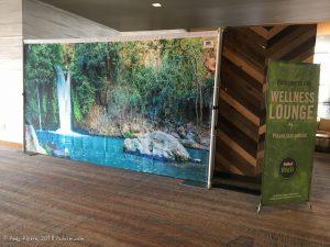 Banias Waterfall Sukkah Panel