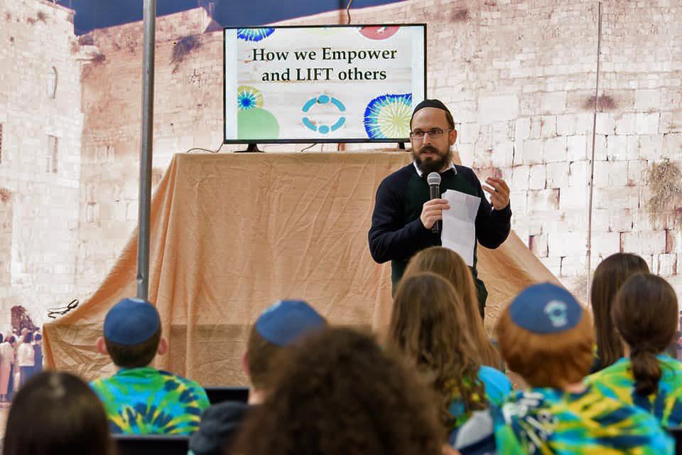 Chabad Hartford Kotel Panoramic Sukkah Panels 2019