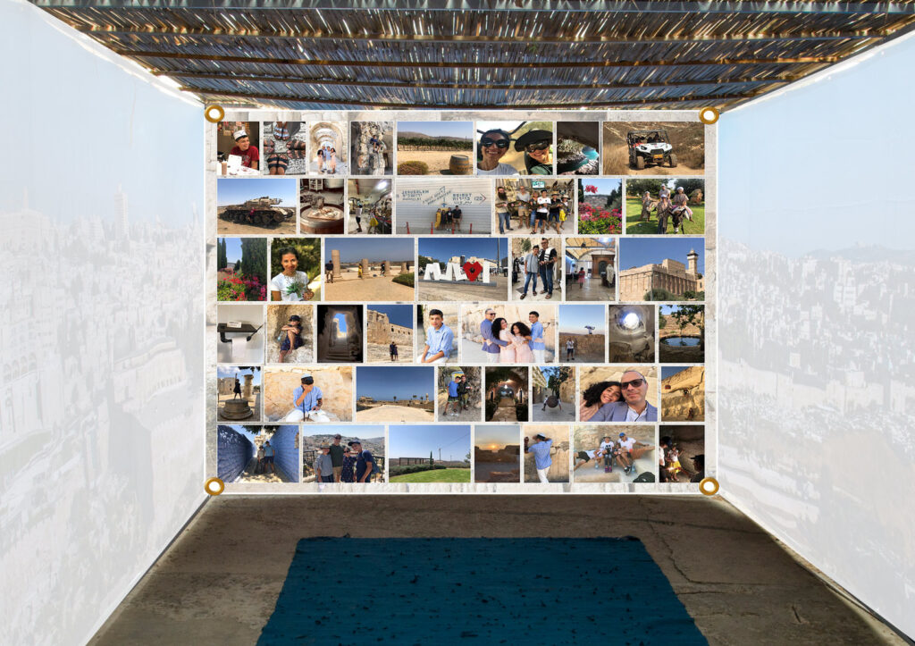 Custom Photo Mosaic Sukkah Panel - Buy Sukkah 2020