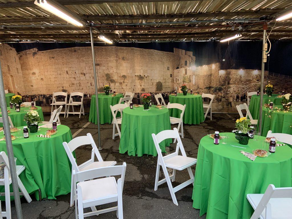 Extra Large Synagogue Size Jerusalem Panoramic Sukkah - Buy Sukkah Online 2021
